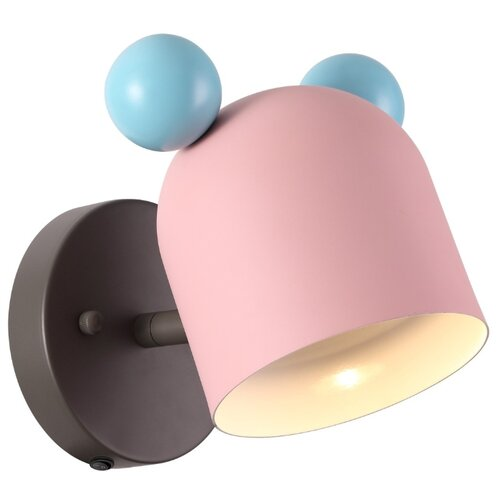 Бра Odeon light Mickey 4731/1W, с выключателем, 5 Вт бра odeon light mela 2690 1w