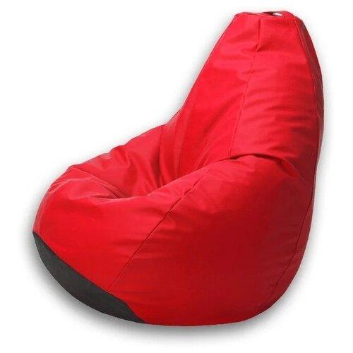 Kreslo-Puff Кресло-мешок Maxi иск.кожа красный искусственная кожа