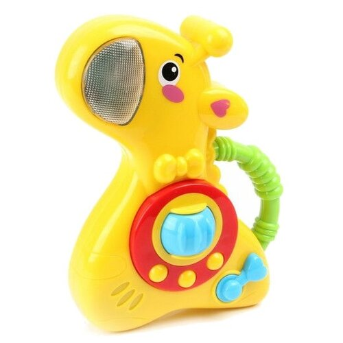Развивающая игрушка Ути-Пути Жирафик желтый