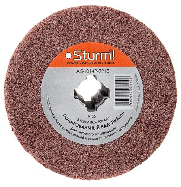 Шлифовальный валик нетканный Sturm! AG1014P-9912