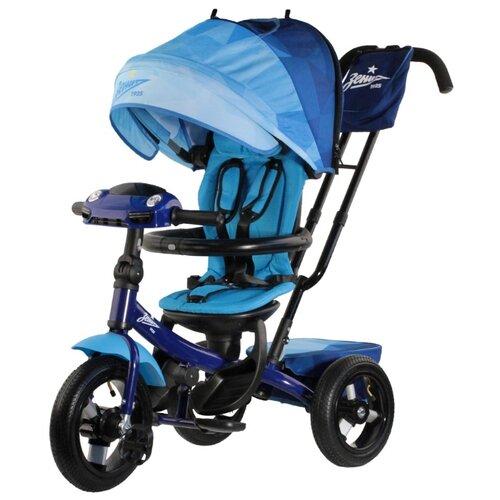 Купить Трехколесный велосипед Зенит TF1ZB синий/белый/голубой, Трехколесные велосипеды