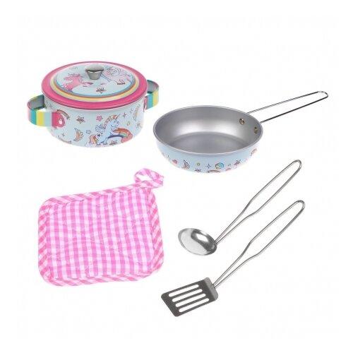 Купить Набор посуды Mary Poppins Единорог 453221, Игрушечная еда и посуда