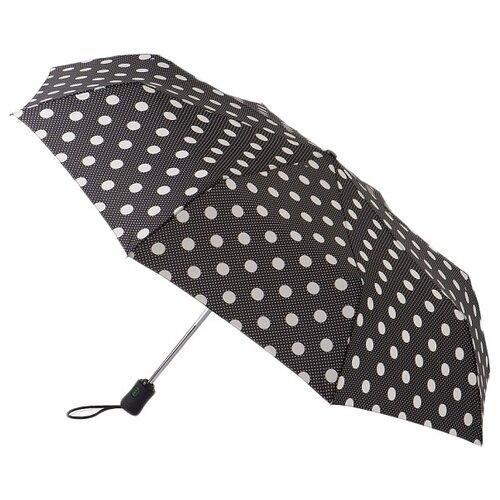 Зонт автомат FULTON PolkaDotSpot черный