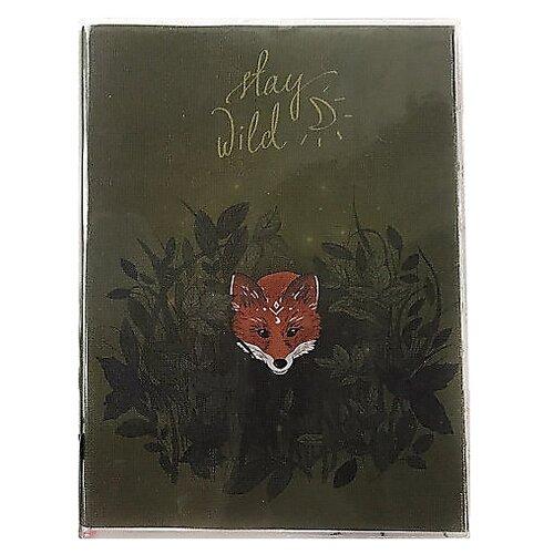 Купить Ежедневник Sammy ICON Stay Wild Mini недатированный, 144 листов, зеленый, Ежедневники, записные книжки