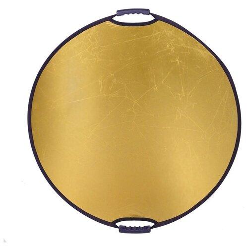 Фото - Отражатель Falcon Eyes CFR-32G HL, диаметр 82 см, золотистый отражатель двусторонний falcon eyes cfr 42gs hl диаметр 106 см золотистый серебристый