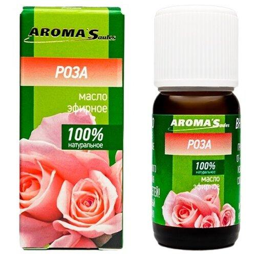 Фото - AROMA'Saules эфирное масло Роза 10 мл аромашка эфирное масло роза дамасская 1 мл