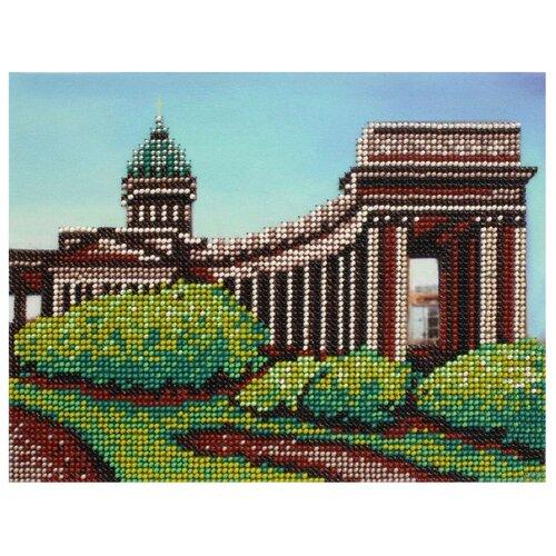 Купить Hobby & Pro Набор для вышивания бисером Казанский собор 22 х 17 см (БН-3217), Наборы для вышивания