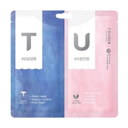 Купить Frudia Набор масок с розовой и чёрной глиной My Orchard TU Drawing Mask, 14 г