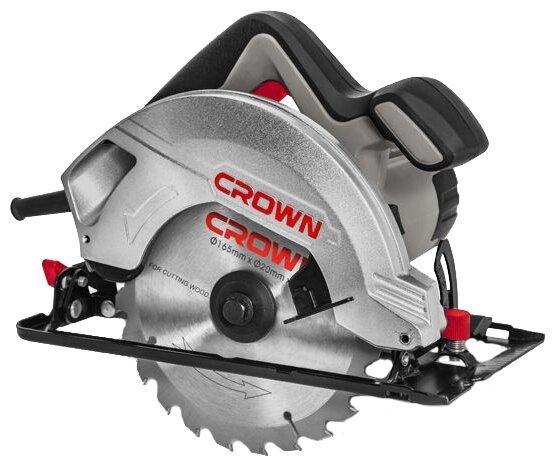 Дисковая пила CROWN CT15187-165