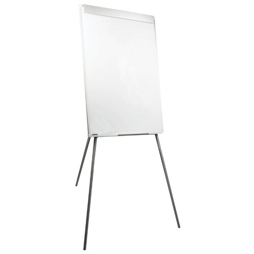 Доска-флипчарт магнитно-маркерная BRAUBERG 235526 (100х70 см) белый/хром