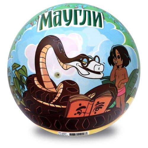 Купить Мяч ЯиГрушка Маугли синий/зеленый, Мячи и прыгуны