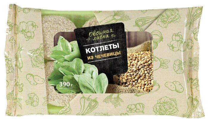 Котлеты Овощная лавка из чечевицы 390 гр