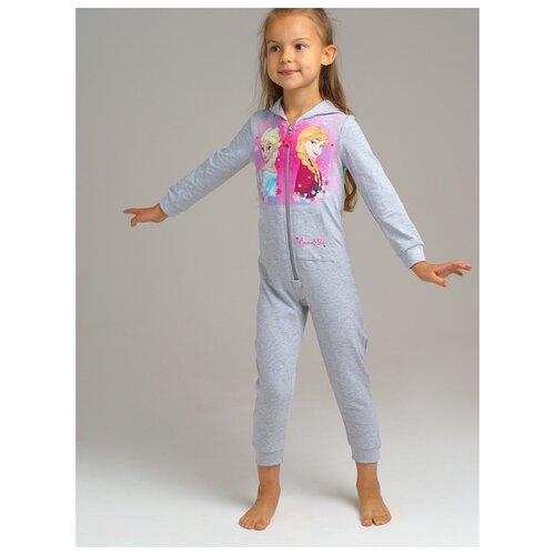 Купить Комбинезон playToday размер 104, серый, Домашняя одежда