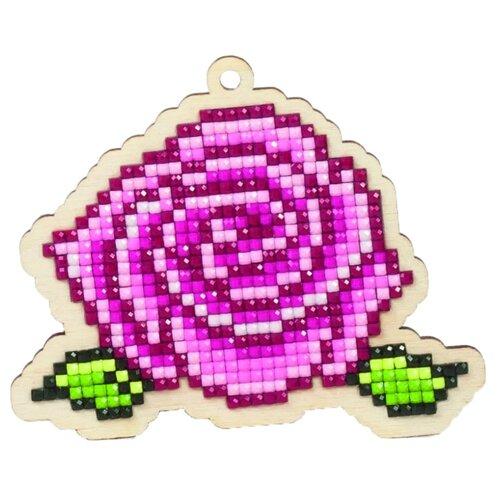 Купить Гранни Набор алмазной вышивки Роза (W0122) 9.8x8.3 см, Алмазная вышивка