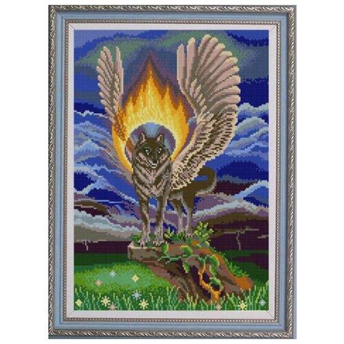 Купить Рисунок-схема на ткани Симаргл , 29x39 см, Конёк, Наборы для вышивания