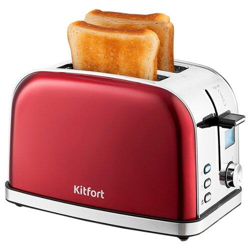 Тостер Kitfort KT-2036, красный