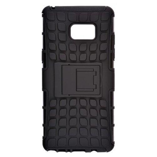 Пластиковый чехол для телефона skinBOX. Defender, для Samsung Galaxy Note 7, цвет черный чехол для сотового телефона skinbox lux 4660041407143 черный
