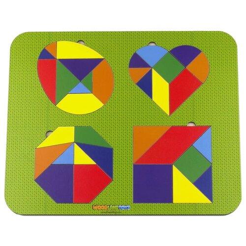 Купить Головоломка Woodland 083312 разноцветный, Головоломки