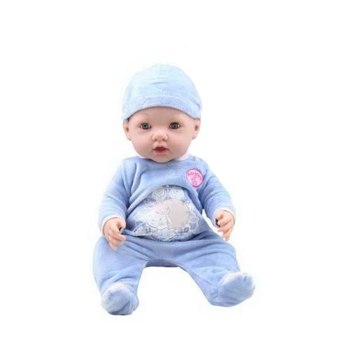 Пупс ABtoys Baby Ardana в голубом комбинезончике, 40 см, A316A ABtoys   фото