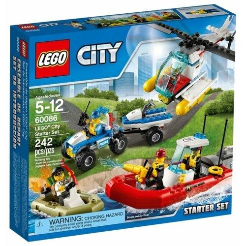 Конструктор LEGO City 60086 Набор для начинающих