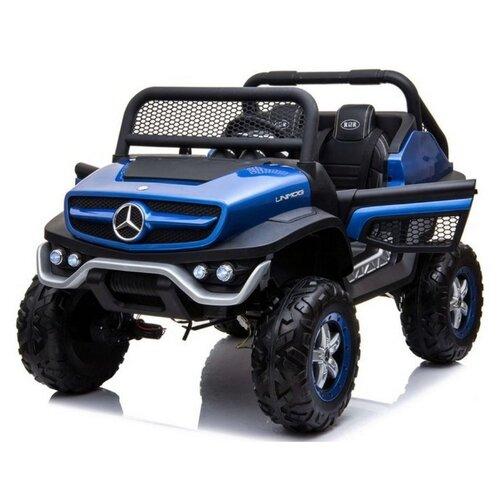 Купить RiverToys Багги Mercedes-Benz Unimog Concept P555BP 4WD, синий глянец, Электромобили