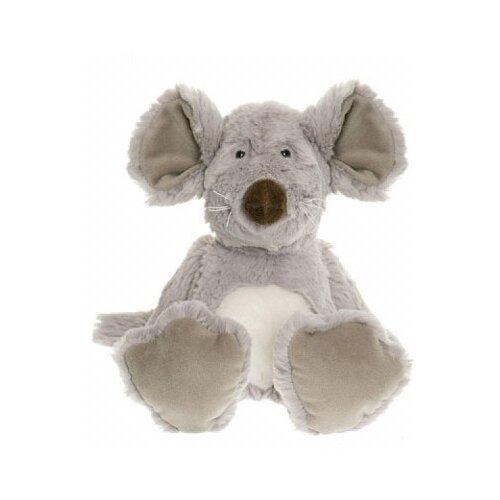 Мягкая игрушка Teddykompaniet Мышь сидящая 28 см