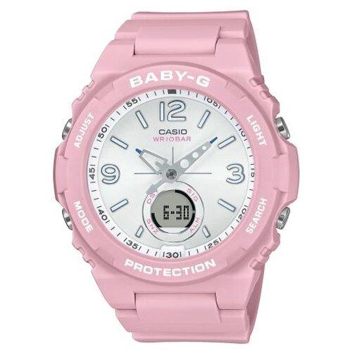 Наручные часы CASIO BGA-260SC-4A женские часы casio bga 255 4a