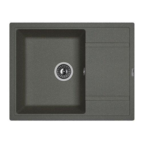 Врезная кухонная мойка 65 см FLORENTINA Липси-650 FG 20.125.C0650.102 черный