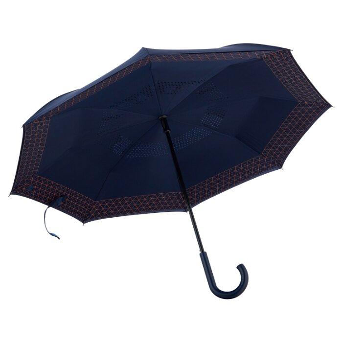 Зонт-трость полуавтомат Samsonite Up Way (8 спиц, ручка-крюк)
