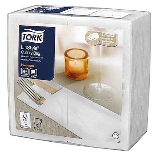 Салфетки TORK конверты для столовых приборов LinStyle, 50 шт.