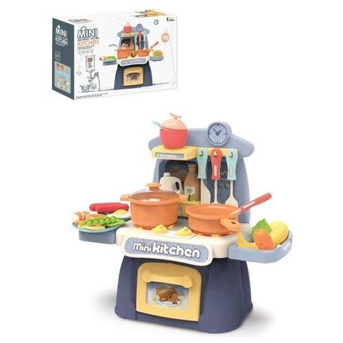 Купить Кухня со звуком и светом, 26 предметов, высота 30см BL0074, BestLike, Детские кухни и бытовая техника