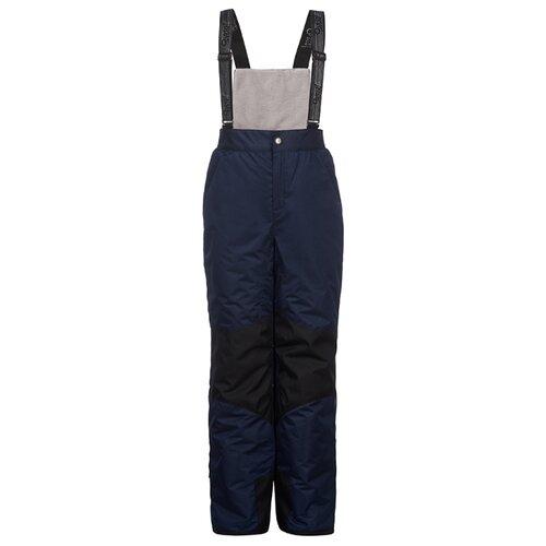 Купить Полукомбинезон Oldos Лейк AAW193T1PT10 размер 98, темно-синий, Полукомбинезоны и брюки