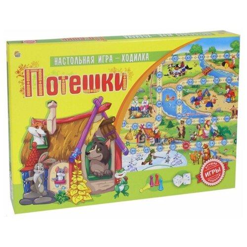 Купить Настольная игра Рыжий кот Потешки ИН-9183, Настольные игры