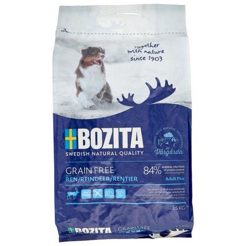 Сухой корм для собак Bozita курица, оленина с картофелем 3.5 кг сухой корм для собак bozita баранина с картофелем 3 5 кг
