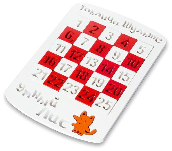 Купить Развивающая игра Умный лис Таблица Шульте по низкой цене с доставкой из Яндекс.Маркета (бывший Беру)