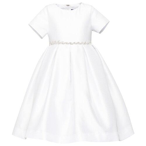 Платье Gulliver размер 104, белый платье gulliver gulliver gu015egibxz8