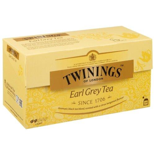 Фото - Чай черный Twinings Earl Grey в пакетиках, 25 шт. чай черный twinings earl grey 100 г