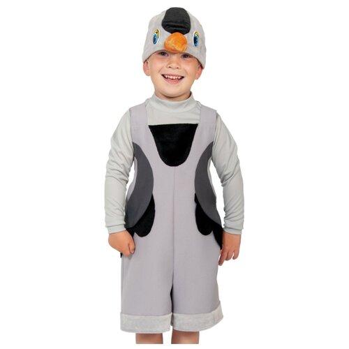 Купить Костюм КарнавалOFF Журавль ткань-плюш (2110), серый, размер 92-122, Карнавальные костюмы