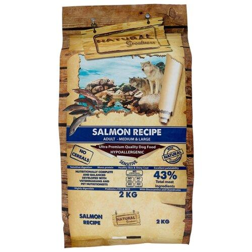 Сухой корм для собак NATURAL Greatness лосось с картофелем 2 кг greatness