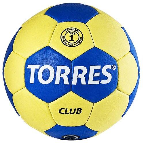 Мяч для гандбола TORRES H30041 желтый/синий