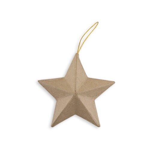 Купить Заготовки и основы Love2art PAM-019 звезда папье-маше 13 x 4.5 см ., Декоративные элементы и материалы