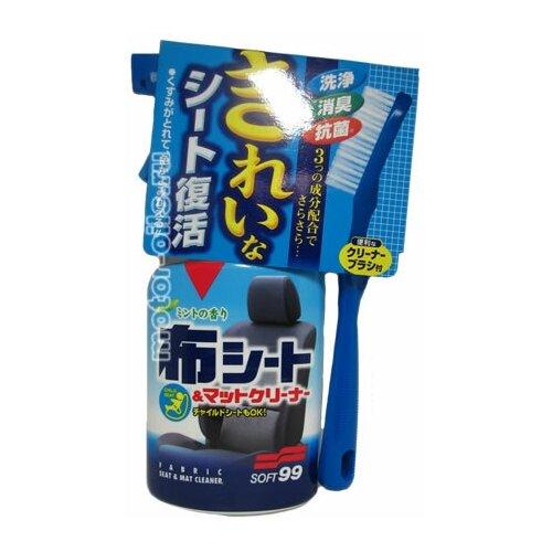 Soft99 Fabric Cleaner Spray Очиститель обивки сидений антибактериальный 400мл (02080)