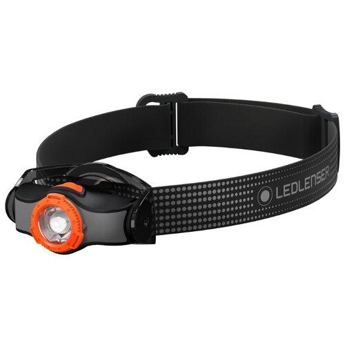Фото - Фонарь налобный LED Lenser MH3 - Черный/Оранжевый (502148) налобный фонарь mh3 черный с серым