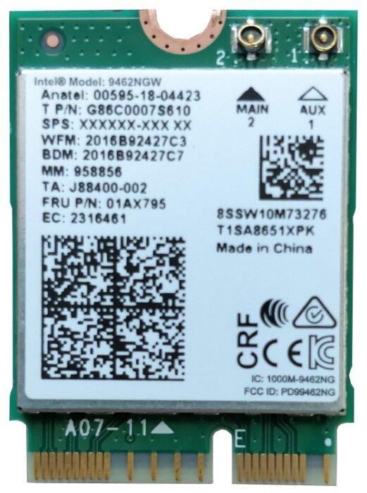 Bluetooth+Wi-Fi адаптер Intel 9462NGW.AC