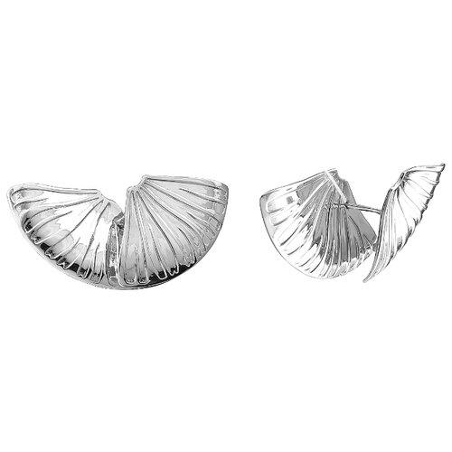 Эстет Серебряные серьги С38С052350К