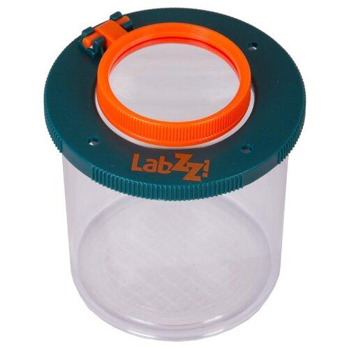 Лупа LEVENHUK LabZZ C1 оранжевый/синий/бесцветный