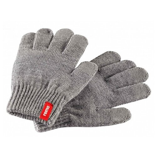 Перчатки Reima размер 7, серый