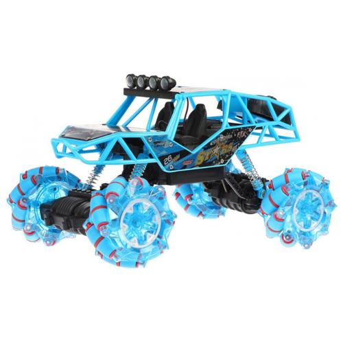 Купить Внедорожник Пламенный мотор Дрифт 4х4 (870460/870424) 26.5 см голубой, Радиоуправляемые игрушки