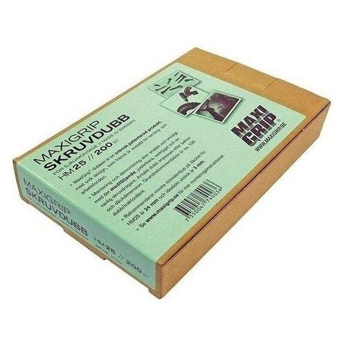 Шипы противоскольжения MaxiGrip HM25, для спецтехники, вкручиваемые, упаковка 200 шт.
