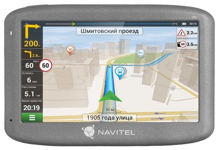 Навигатор NAVITEL E505 Magnetic